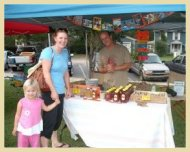 Kittrell's Daydream Honey, Soap & Candles at Fairhope's Farmer's Market