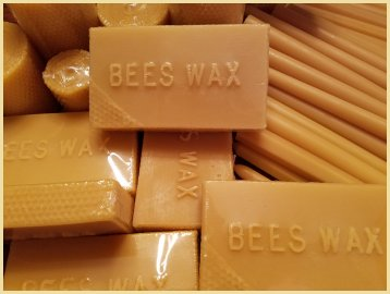Pure Beeswax Pillar Candles
